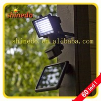 60 /100 pcs led high power solar motion security light for patio yard garage outdoor