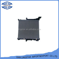Gray Aluminum Radiators for Cars For MITSUBISHI L200 Year 2007