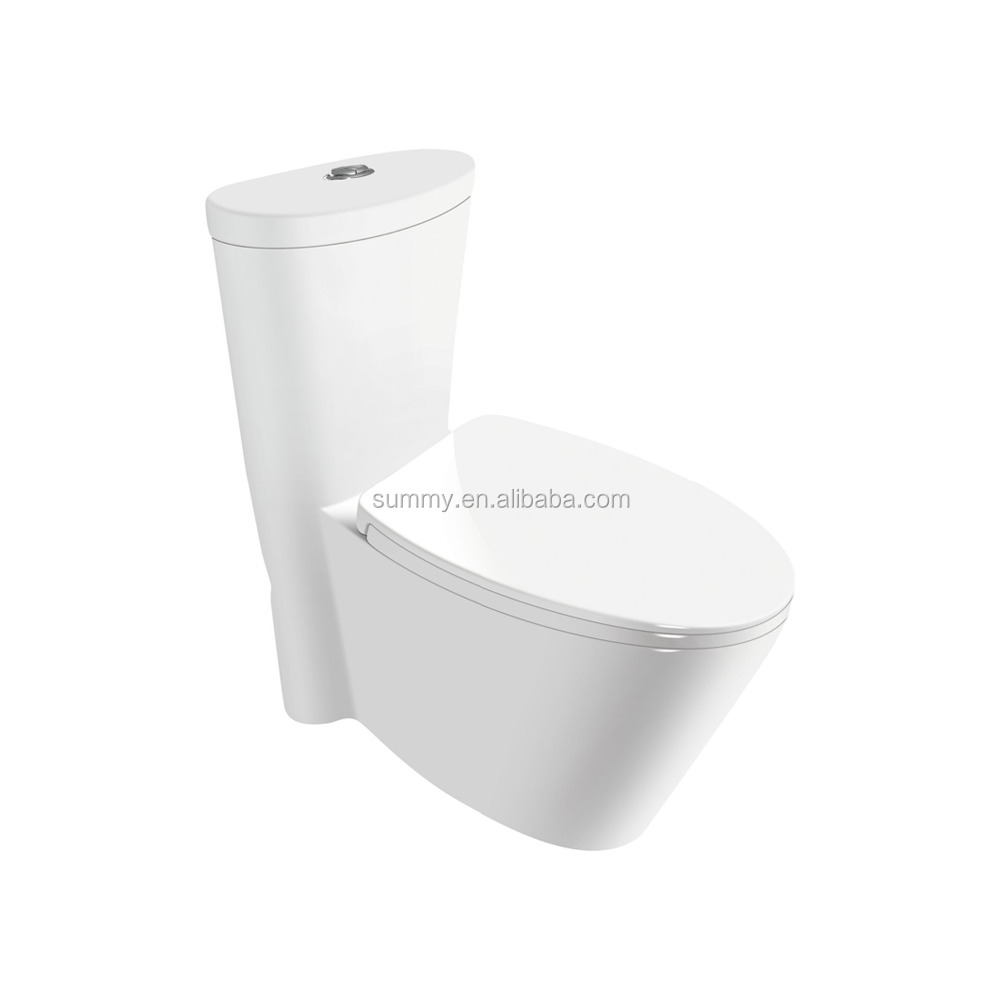 Arab floor mounted one piece siphonic toilet wc for home SC141