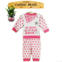 Wholesale new products spring baby style baby gift clothes set