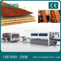 high efficiency wood floor making machines , flooring tongue and groove prodution line
