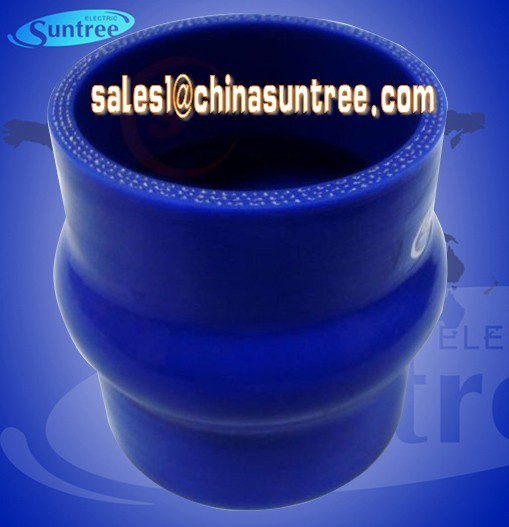 Silicone Hump Hose connect the radiator, intercooler, turbo-charger