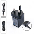 5V 2A USB 2.0 charger portable universal wall travel charger UK plug for mobile phone tablet