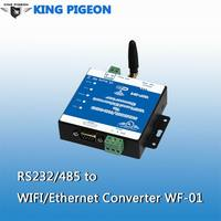 Serial to Ethernet Transparent Transmission,RJ45/Ethernet to RS232 RS485 Server WF-01