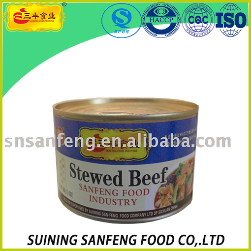 canned stewed beef
