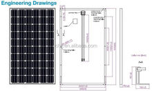 CHC cheap price mono 300w pv modules making 1 kw solar panel system