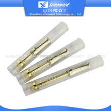 disposable atomizer cartridge thick oils 510 empty gold pyrex glass atomizer