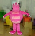 Pink dinosaur mascot/cosplay costume/animal costume for sale