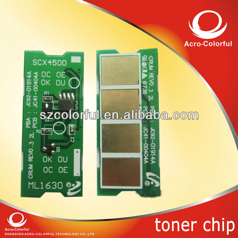 Reset toner chip for samsung ml1630/1631/scx4500/scx4501k