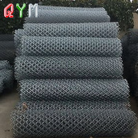 Galvanized Chain Link Fence with Diamond Hole 6FT Height