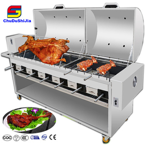Heavy Duty commercial Romania bbq charcoal brick bbq grill trailer bbq