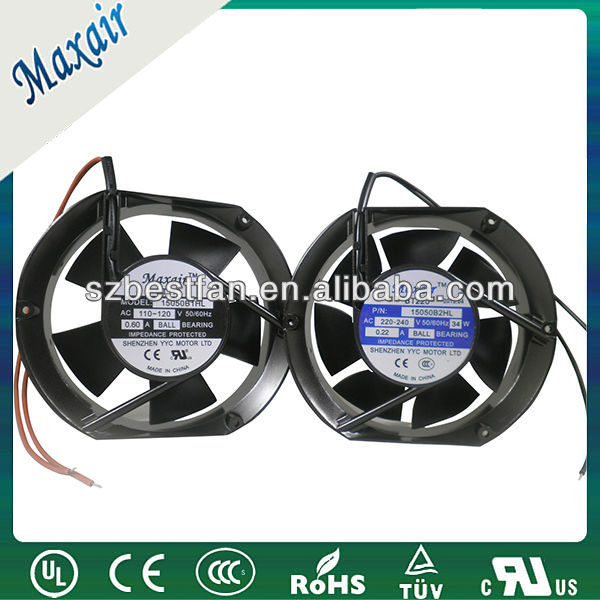 150mm Tube Axial panel cooling fan