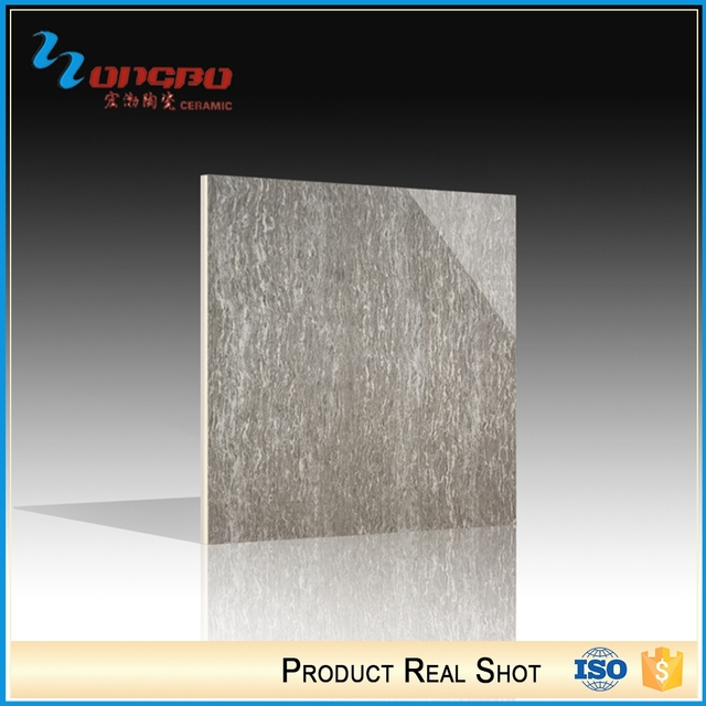 House Interior Grey Polished Porcelain Square Tiles Ceramic Floor 30X30