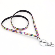 High Quality E-cigarette Rhinestone Lanyards for Cell Phone