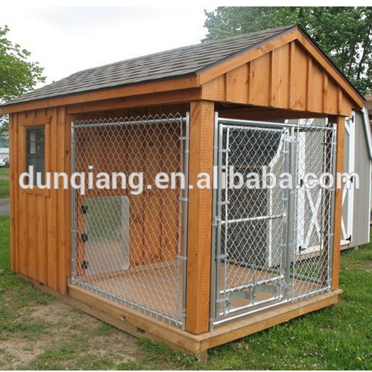 Factory low price galvanized iron large dog house With Waterproof