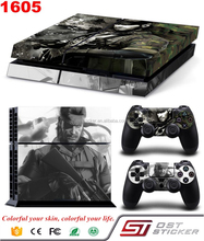Custom Vinyl Sticker For PS4 Skin Decal For Playstation 4 Console And Controller