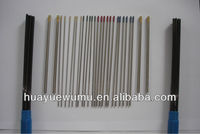 all types of tungsten electrodes for TIG