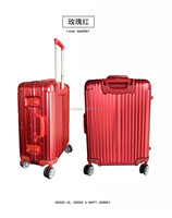 hot sell product aluminum luggage case with TSA Custom lock for airport