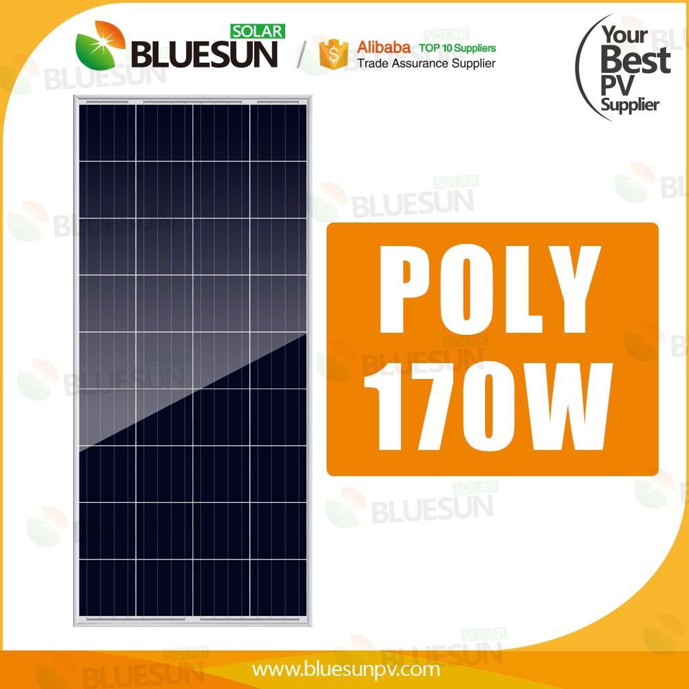 Poly 12v 150 watt solar panels high efficiency 160w 165w 170w solar module