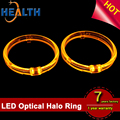 95mm Car LED Angel Eye Rings Headlight Lamp Lighting Switchback LED Halo