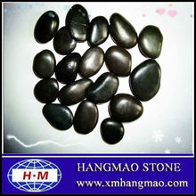 3-5-8cm Natural Black Pebble Stone for Landscaping