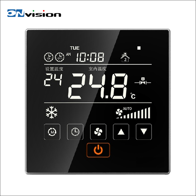 Excellent quality HVAC system touch screen smart digital room wi fi thermostat
