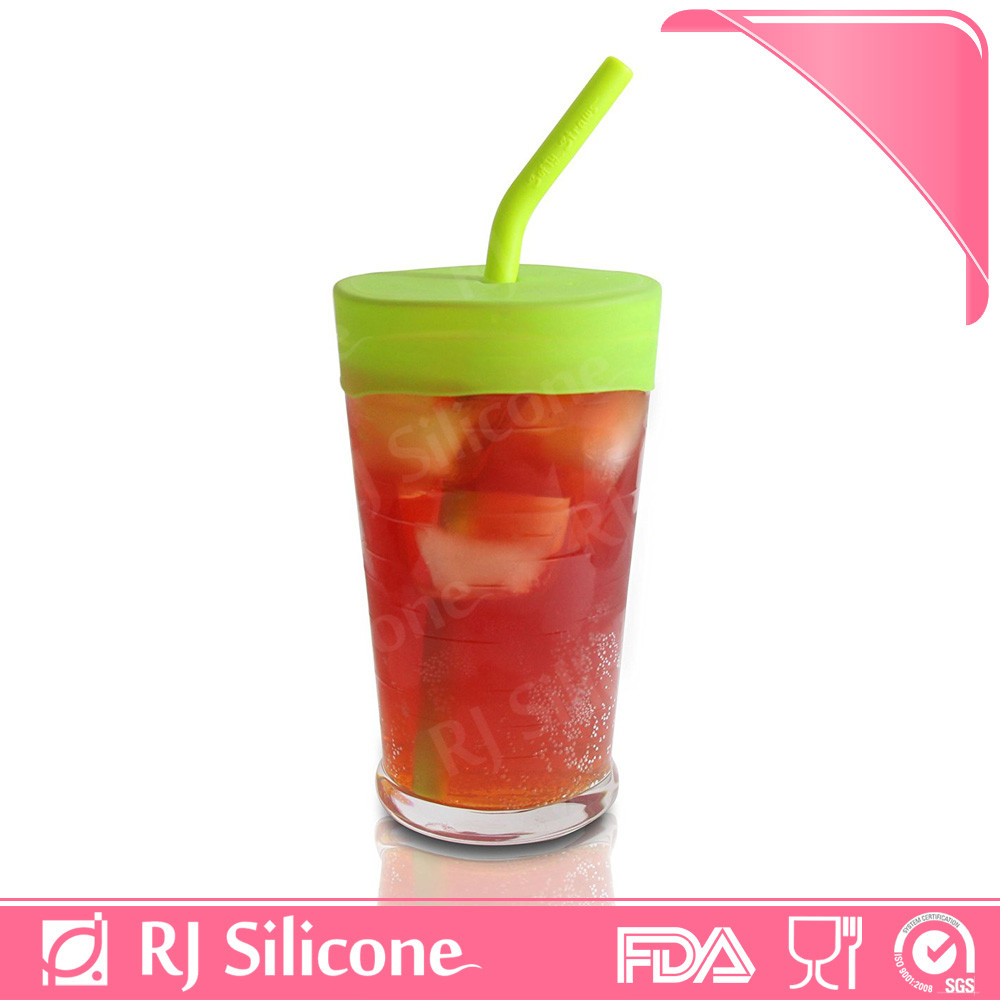 RJSILICONE silicone cup cover lid super stretch lids sippy cup lids