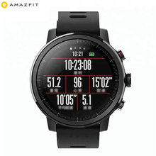 320*300HD OLED Display Amazfit 2 English Version Xiaomi Huami Amazfit Stratos <strong>Smart</strong> Sports <strong>Watch</strong> 2 GPS 5ATM Water
