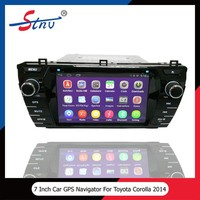 7 Inch City Car GPS For Toyota Corolla Multimedia Navigation System