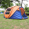 2017 new inventions china outdoor large broadstone camping one touch square pop up bed family camping tent factory wholesale