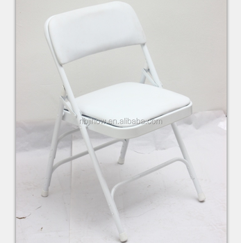 popular plastic metal wedding folding chair for party