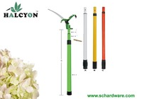 Garden Telescopic Pole Long Handle Reach Tree Ratchet Shears Pruner with Saw