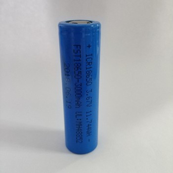 Ruizhi Lithium Cobalt Oxide LiCoO2 ICR18650 3.7V 2600mAh rechargeable Battery