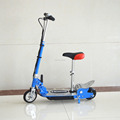 Mini foldable designed electric scooter with steel deck