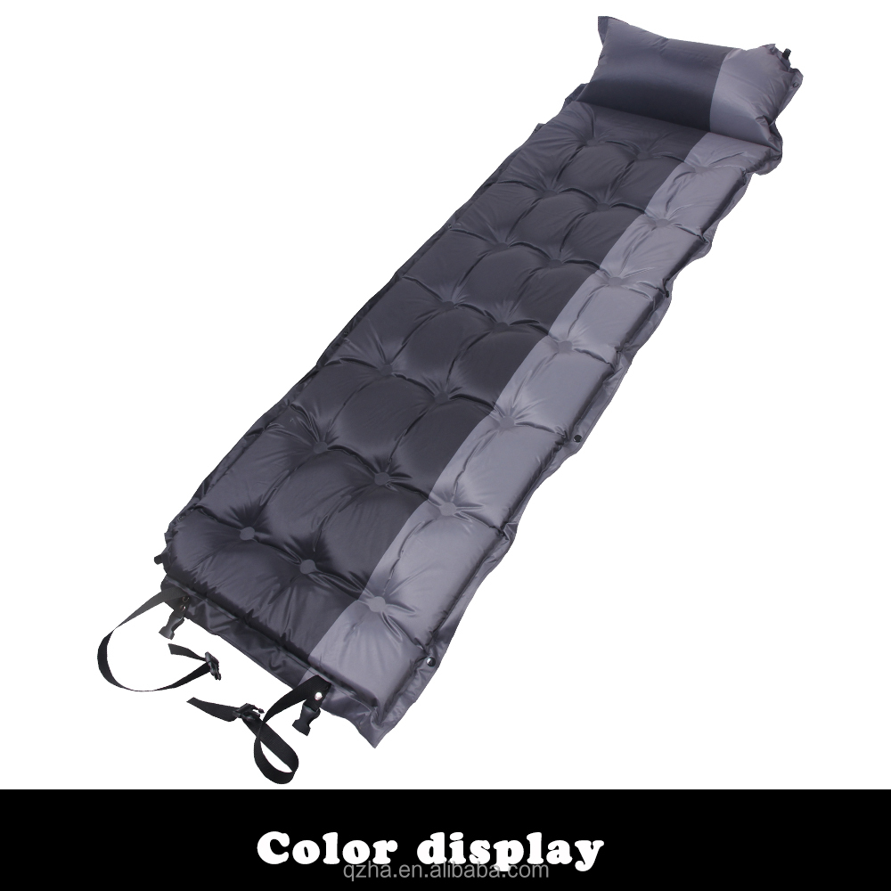 outdoor camping and hiking inflatable air mattress