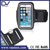 New arrival smartphone armband black armband for iphone 6 6s plus armband case