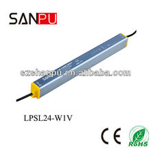 SANPU 2013 hot selling Shenzhen CE ROHS IP67 24W 24V driver led, mini led driver ic