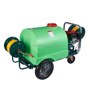 300L Cheap agricultural farm machinery used orchard free tree trolley power sprayer for sale