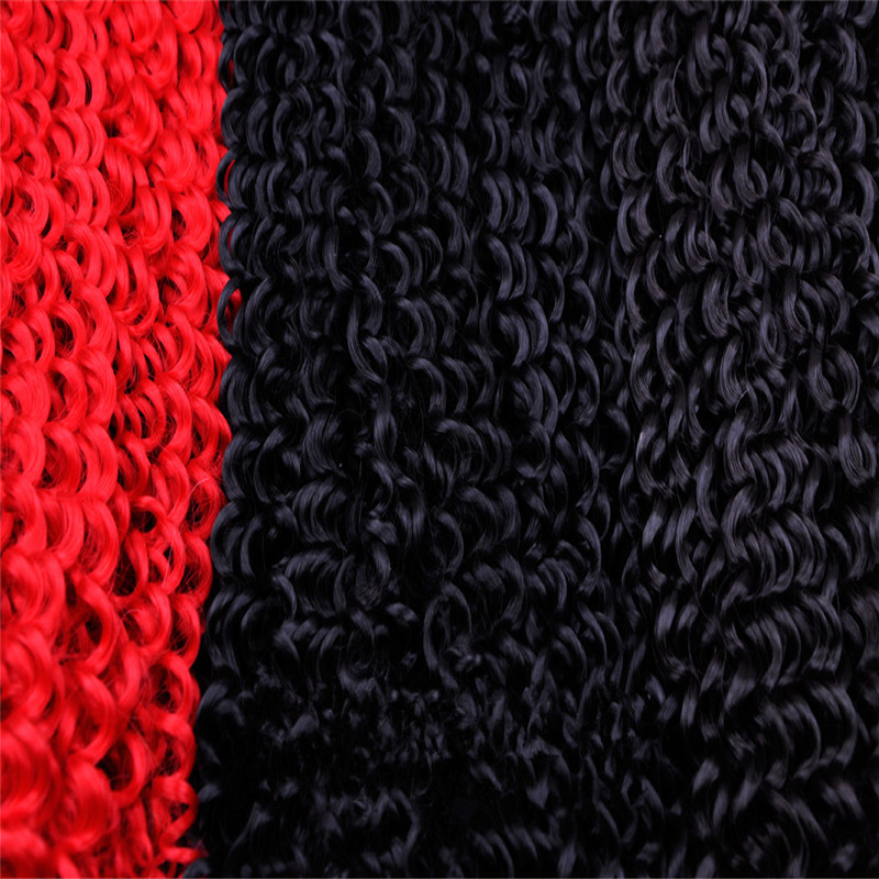 Large Stocks Wholesale Price Bohemian Curl Freetress Bulk Hair Weave