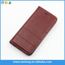 China Manufacturer genuine leather case ,mobile phone case for hisens