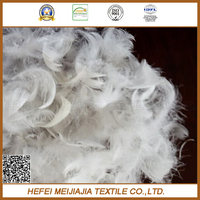 For sofa cushion washed white goose feather price(2-4cm or 4-6cm)