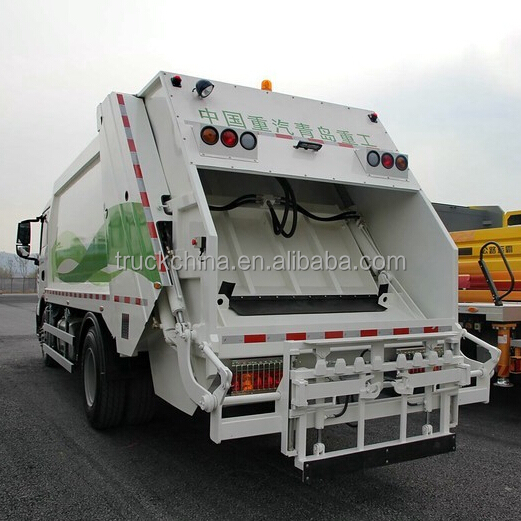 SINOTRUK HOWO new compactor garbage truck 4x2 waste collection truck