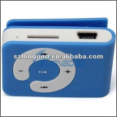 Wholesale New style MP3 Music Player Mini Clip
