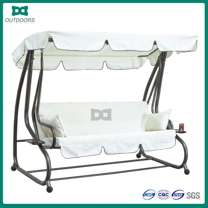 Garden foldable bed indoor home swing with stand