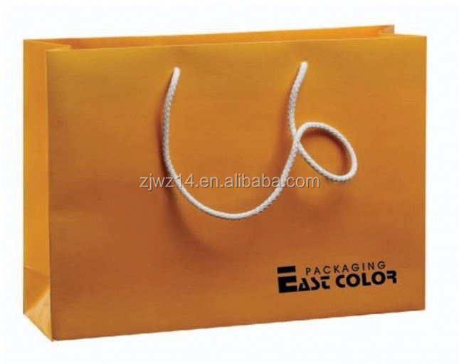 2015 fashion brown kraft paper carrier bags/ kraft paper specification/ kraft papercustom paper bag
