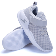 2018 new arrival high quality Jinjiang factory kids mesh sports shoes made in China