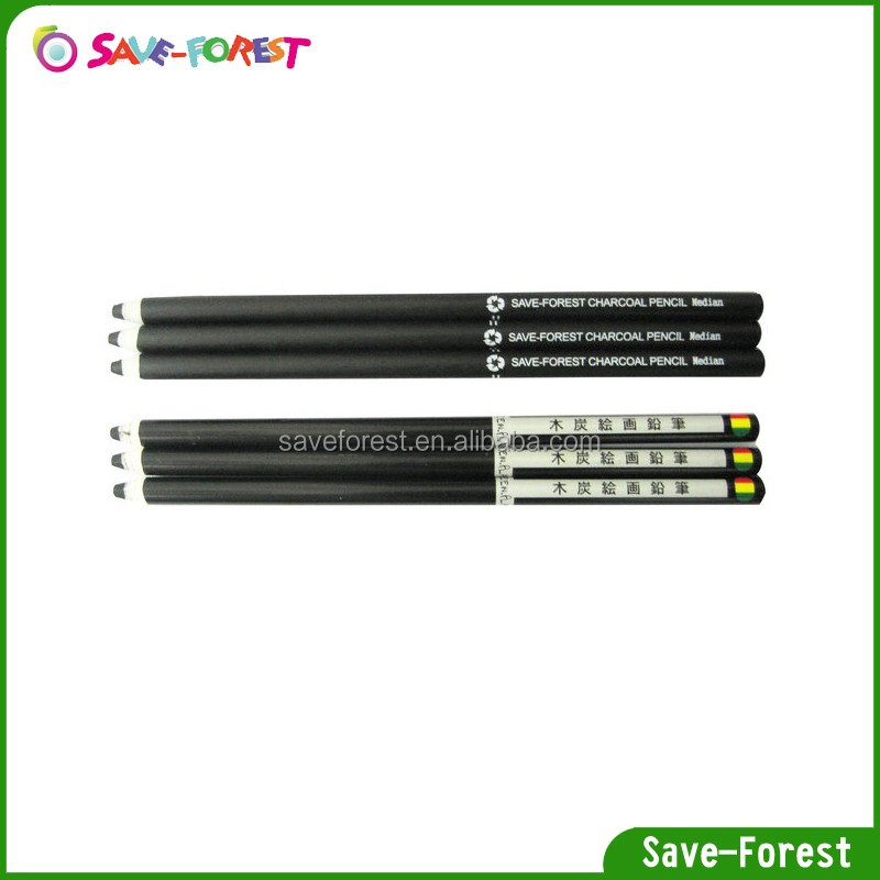 Florescent charcoal pencil for artistics