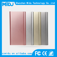 Type-c 5000mah portable slim charger power bank charging