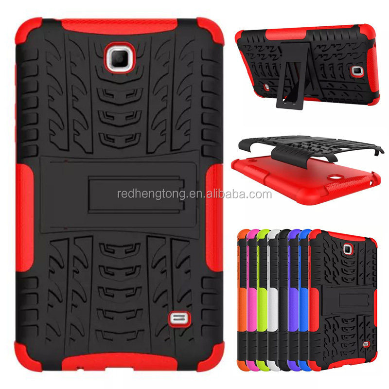 Wholesale Hard Back Case TPU+PC Tablet Kickstand Cover For Samsung GALAXY Tab 4 T230