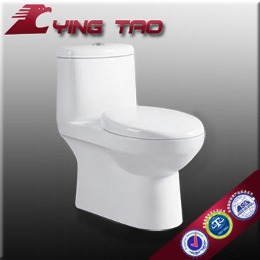 One Piece cheap price floor mounting nami self clean glaze toilet bowl yingtao ceramic water toilet